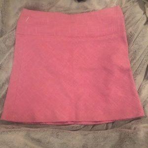 Zara a-line pink skirt size 8